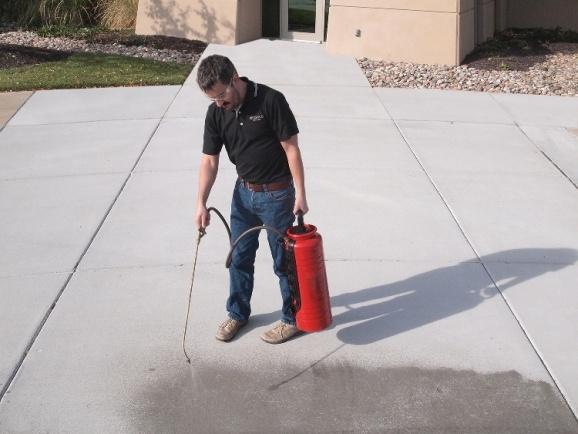 Concrete Sealing Tampa Application Image